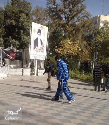 1476883451 عکس یاسین رامین با لباس زندان در دادسرا + اخبار جدید