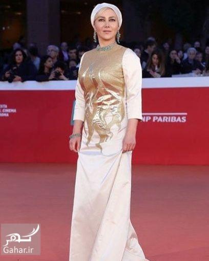 1477311435 پوشش متفاوت آنا نعمتی در افتتاحیه فیلم جاودانگی در ایتالیا