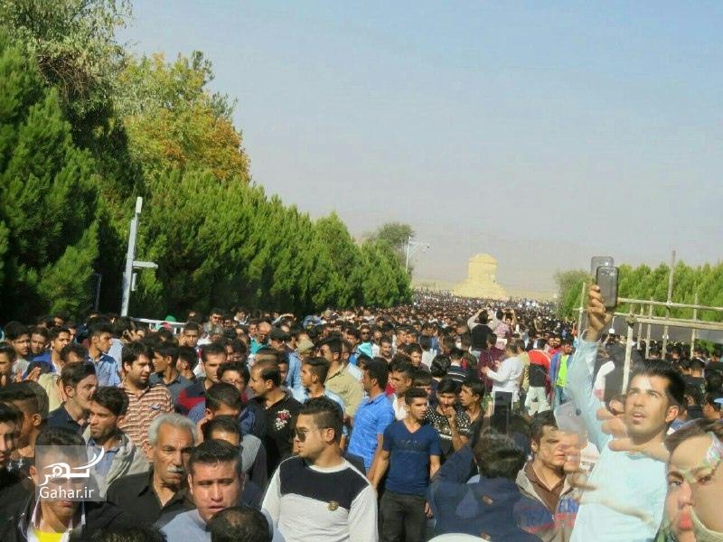 1477764317 عکسهای حضور مردم در پاسارگاد 7 آبان 95 بمناسبت تولد کوروش