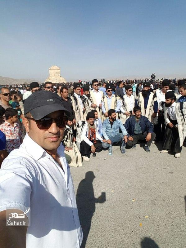 1477771273 عکسهای حضور مردم در پاسارگاد 7 آبان 95 بمناسبت تولد کوروش