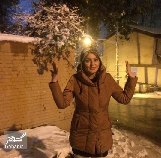1480036142 هنرمندان اینستاگرام را هم برفی کردند ؛ عکس بازیگران در برف