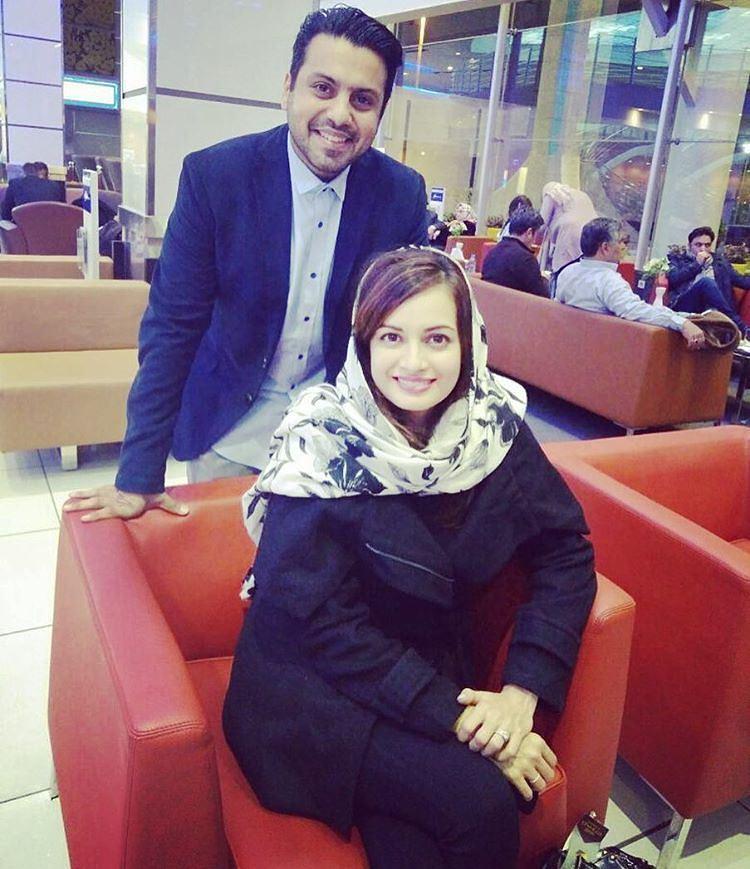 1482388599 عکس های دیا میرزا بازیگر فیلم سلام بمبئی در تهران