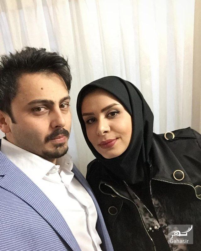 1482449870 جدیدترین عکس نجمه جودکی و همسرش مهدی پارسازاده