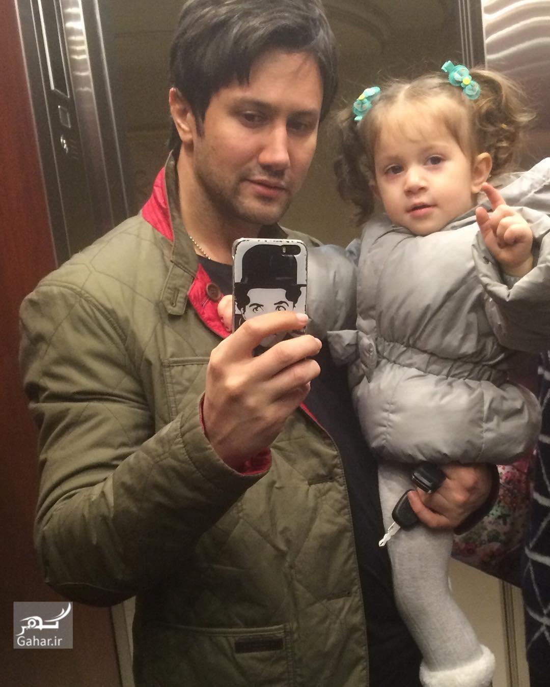 1482616304 عکس های جدید شاهرخ استخری و دخترش پناه در اینستاگرام