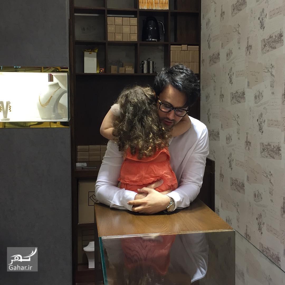 1482627716 عکس های جدید شاهرخ استخری و دخترش پناه در اینستاگرام