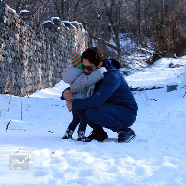1482654989 عکس های جدید شاهرخ استخری و دخترش پناه در اینستاگرام