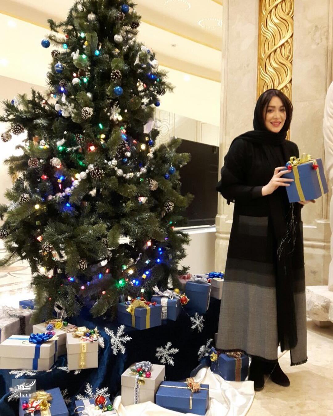 1482923796 عکس بازیگران در روز کریسمس (میلاد حضرت مسیح)