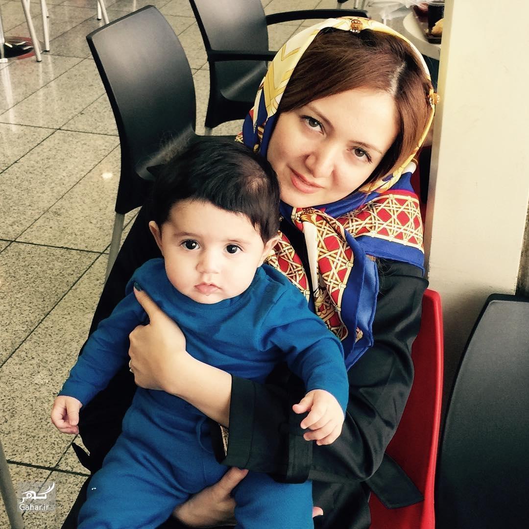 1483075841 جدیدترین عکس همسر و فرزند حمید عسکری