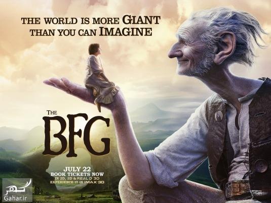 1483094901 فیلم BFG هیجان انگیز ترین فیلم 2016 + دانلود