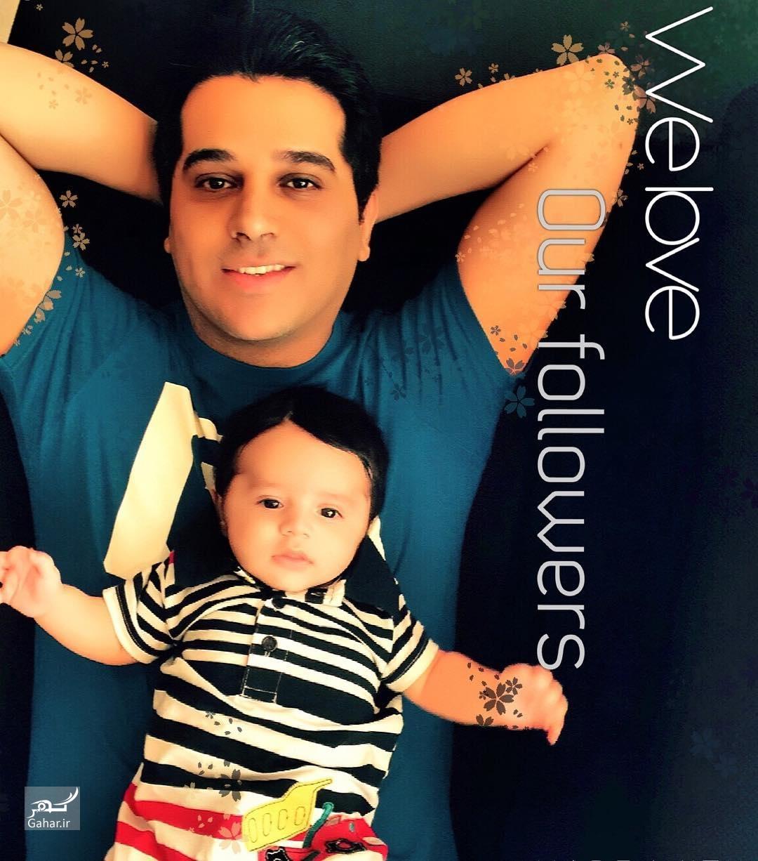 1483105783 جدیدترین عکس همسر و فرزند حمید عسکری