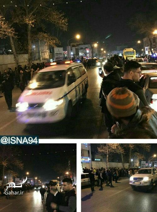 1483933010 عکس های ازدحام مرد مقابل بیمارستان پس از خبر درگذشت آیت الله رفسنجانی