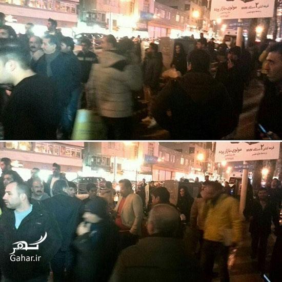 1483968532 عکس های ازدحام مرد مقابل بیمارستان پس از خبر درگذشت آیت الله رفسنجانی