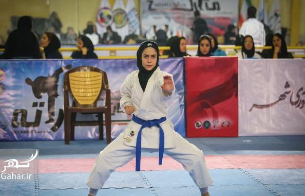 1484960698 عکسهای سوپر لیگ کاراته بانوان