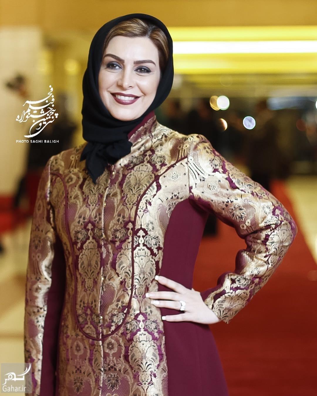 1485757893 عکس های هنرمندان در افتتاحیه جشنواره فیلم فجر 95؛سری دوم