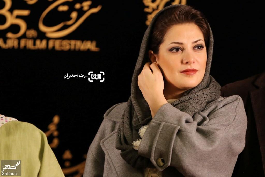1485943780 عکس های بازیگران در نشست خبری فیلم ویلایی ها  جشنواره فجر 35