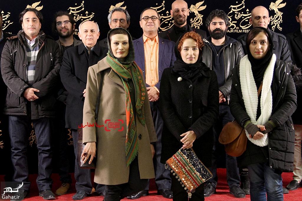 1485951780 نشست خبری فیلم نگار در سی و پنجمین جشنواره فجر + عکس
