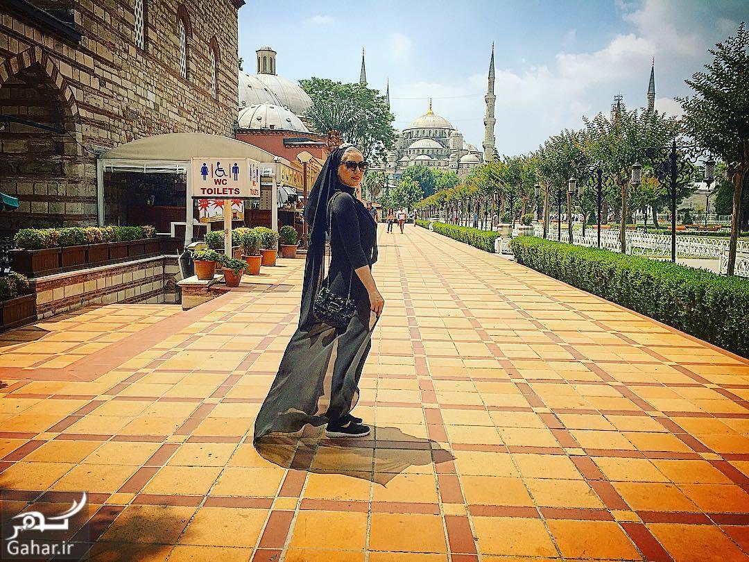 1485973466 سحر قریشی در ترکیه با تیپ متفاوت + عکس