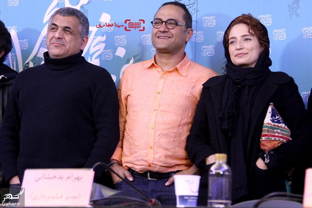 1486004233 نشست خبری فیلم نگار در سی و پنجمین جشنواره فجر + عکس
