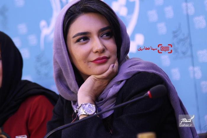 1486154422 عکسهای بازیگران در نشست فیلم انزوا در جشنواره فیلم فجر 95