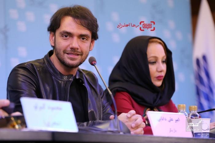 1486165787 عکسهای بازیگران در نشست فیلم انزوا در جشنواره فیلم فجر 95
