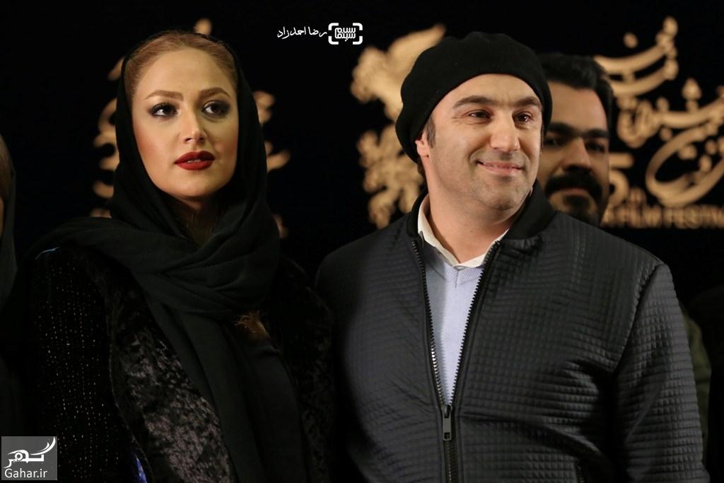 1486211929 عکس های بازیگران در نشست فیلم فراری؛جشنواره فجر 95