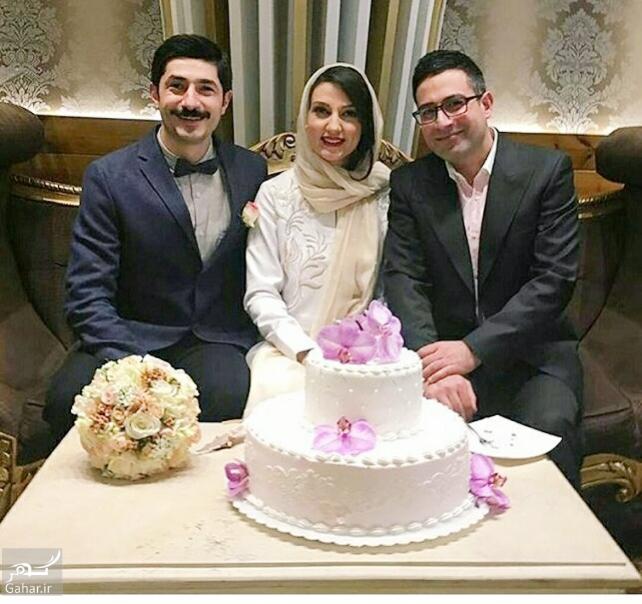 1486239095 حدیث میر امینی ازدواج کرد + عکس های مراسم عقد