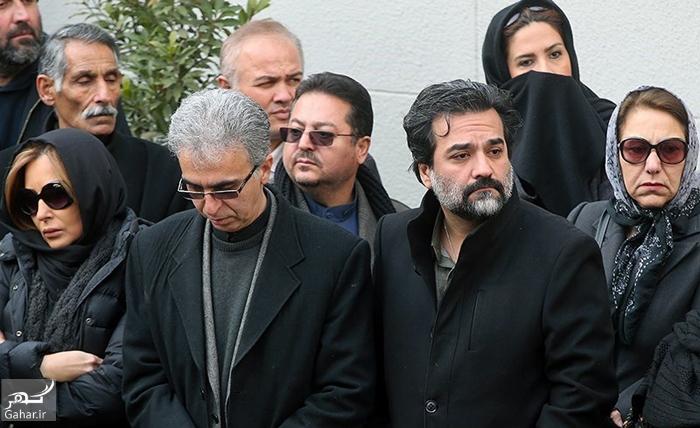 1486312450 عکس های مراسم تشییع حسن جوهرچی با حضور بازیگران