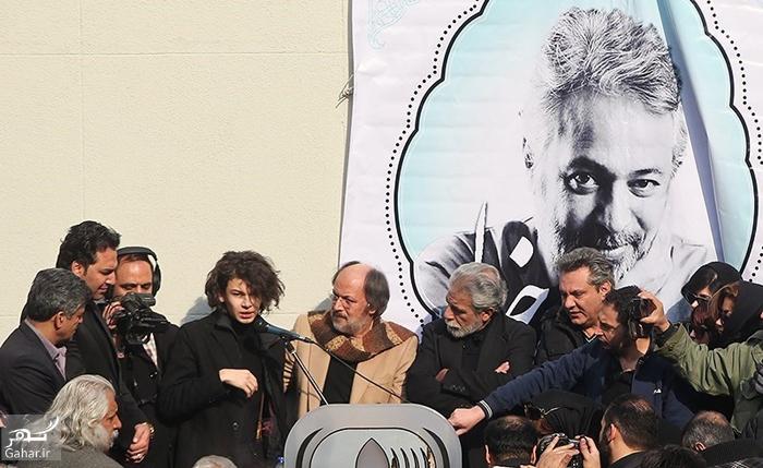 1486340204 عکس های مراسم تشییع حسن جوهرچی با حضور بازیگران