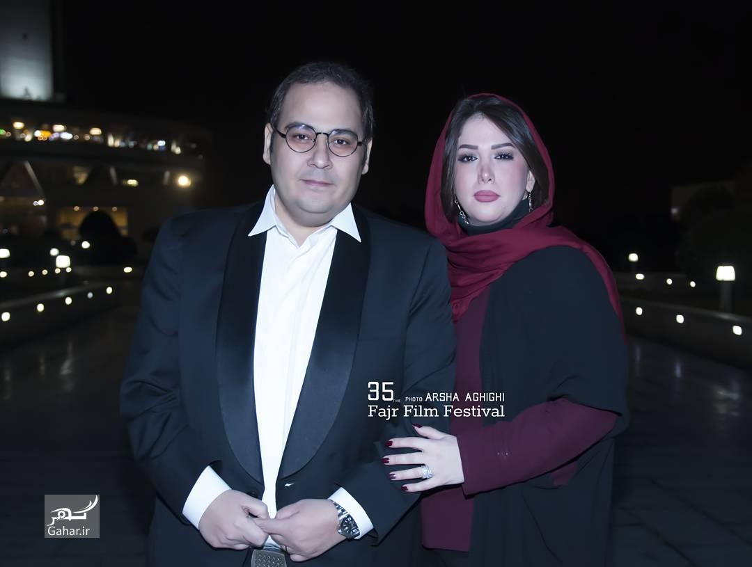1486378202 عکس های هنرمندان و همسرانشان در سی و پنجمین جشنواره فجر
