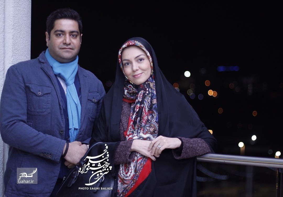 1486382213 عکس های هنرمندان و همسرانشان در سی و پنجمین جشنواره فجر