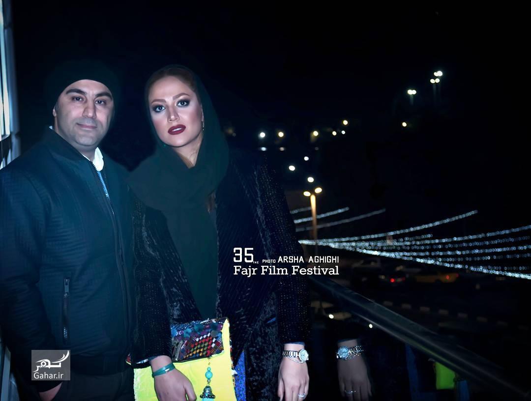 1486402752 عکس های هنرمندان و همسرانشان در سی و پنجمین جشنواره فجر