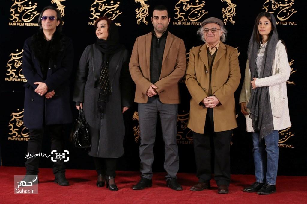 1486416485 هنرمندان در اکران فیلم خفگی سی و پنجمین جشنواره فجر + عکس