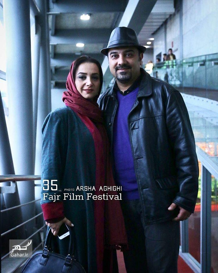1486445552 عکس های هنرمندان و همسرانشان در سی و پنجمین جشنواره فجر