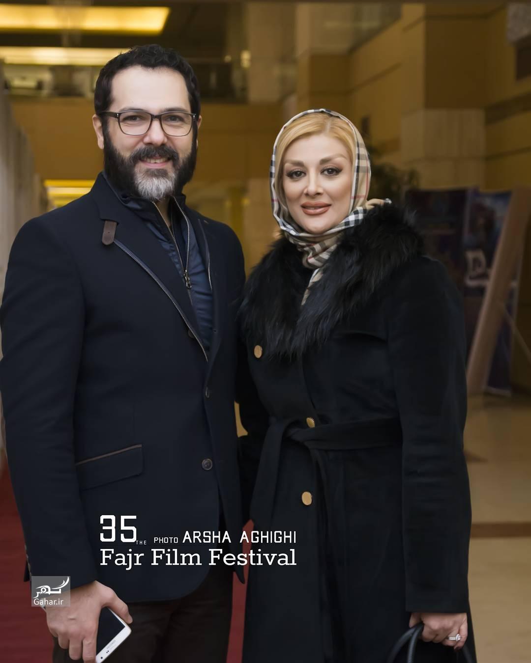 1486461404 عکس های هنرمندان و همسرانشان در سی و پنجمین جشنواره فجر