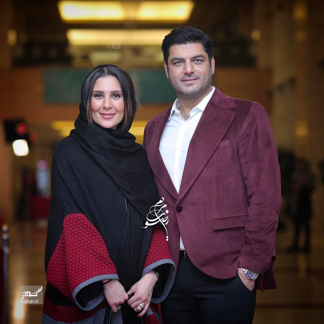 1486463798 عکس های هنرمندان و همسرانشان در سی و پنجمین جشنواره فجر