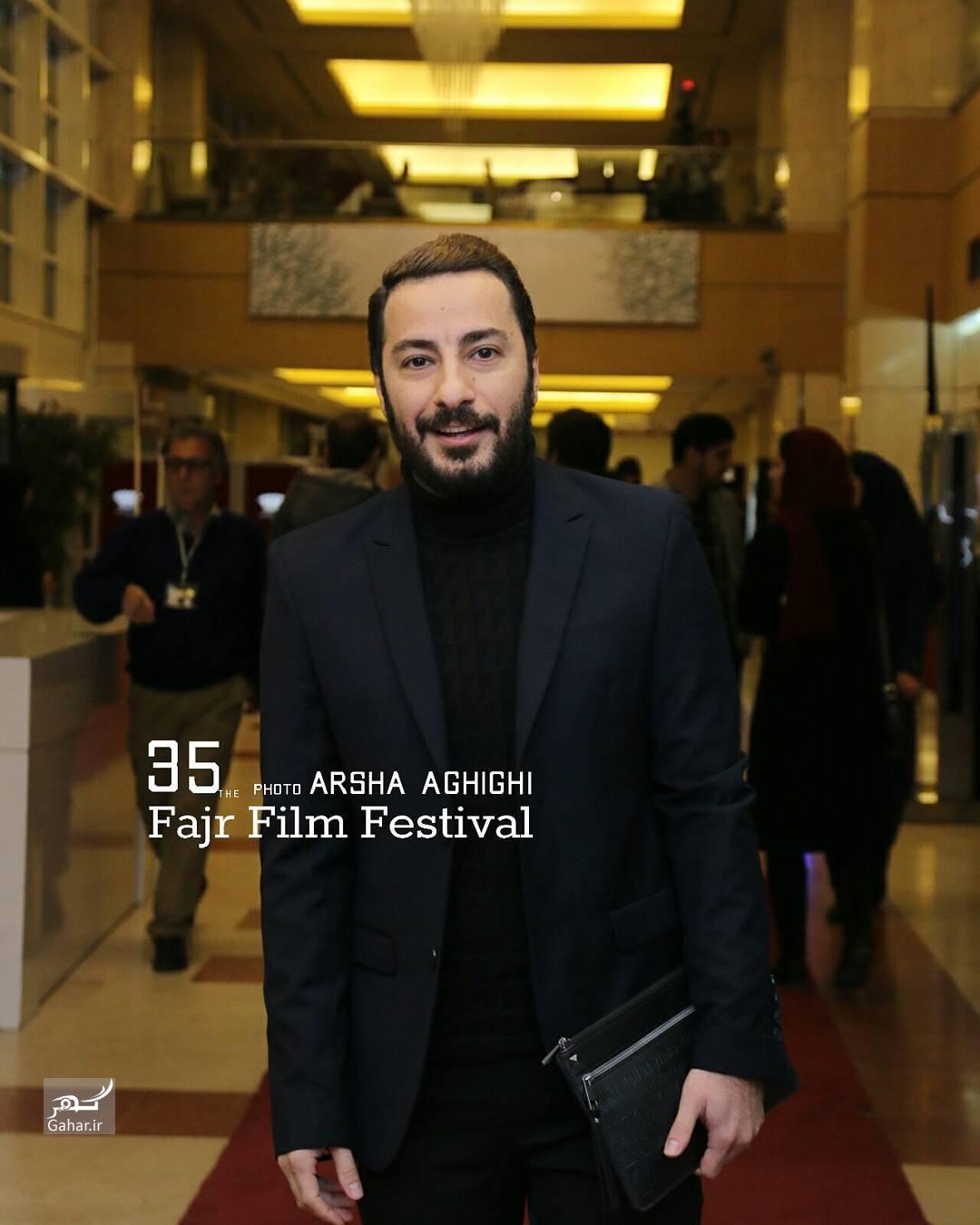 1486665540 عکس های هنرمندان در مراسم اختتامیه سی و پنجمین جشنواره فجر