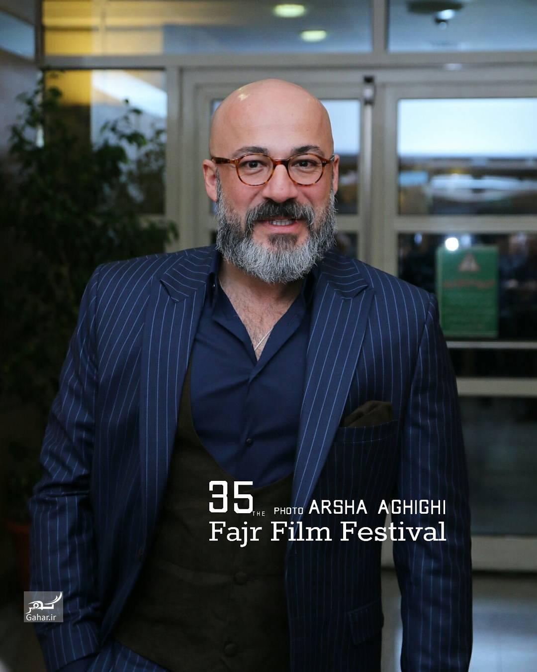 1486689199 عکس های هنرمندان در مراسم اختتامیه سی و پنجمین جشنواره فجر