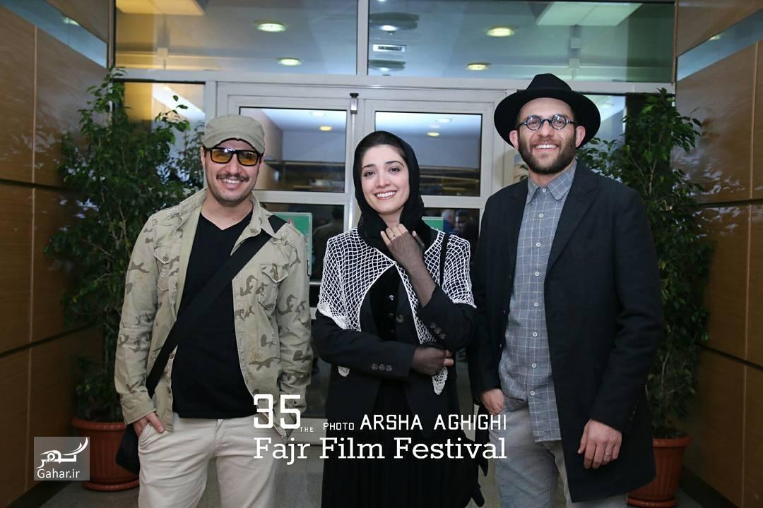 1486741454 عکس های هنرمندان در مراسم اختتامیه سی و پنجمین جشنواره فجر