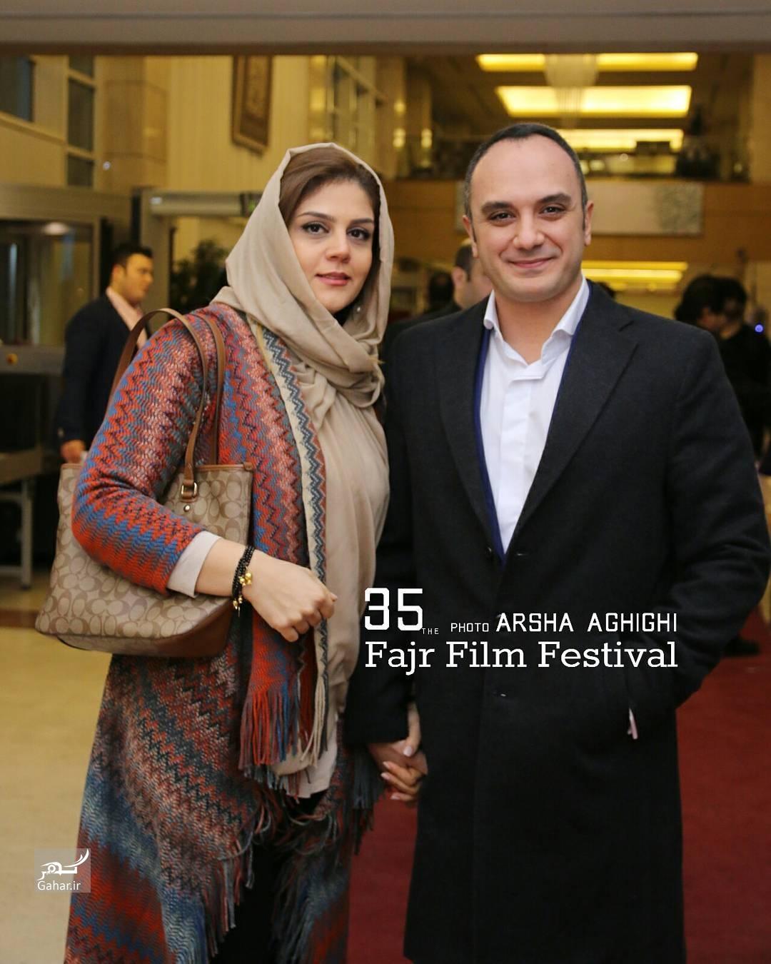 1486746941 عکس های هنرمندان در مراسم اختتامیه سی و پنجمین جشنواره فجر