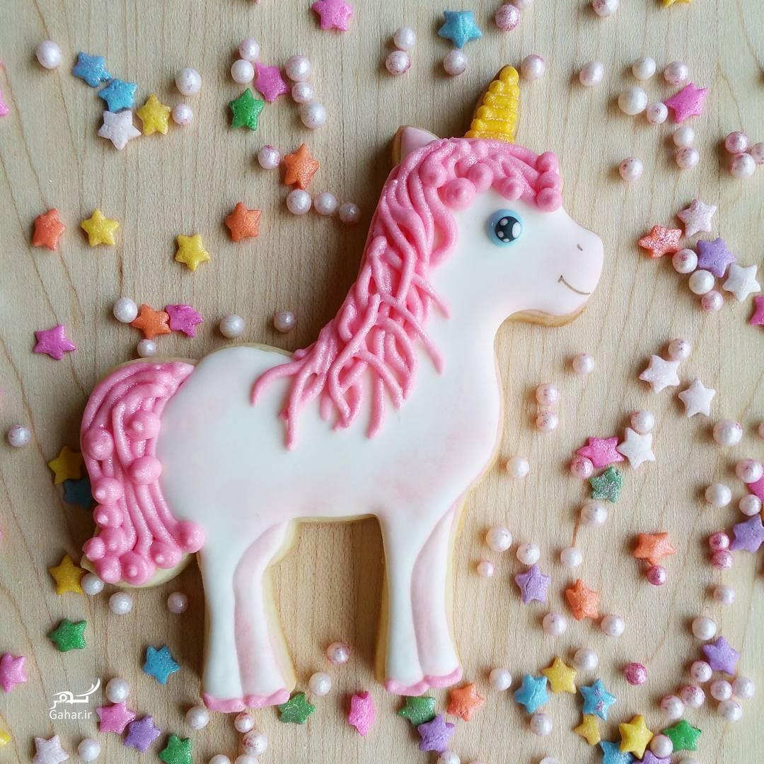 1486796863 تزئین شیرینی ماکارون به شکل های جالب ؛ عکس