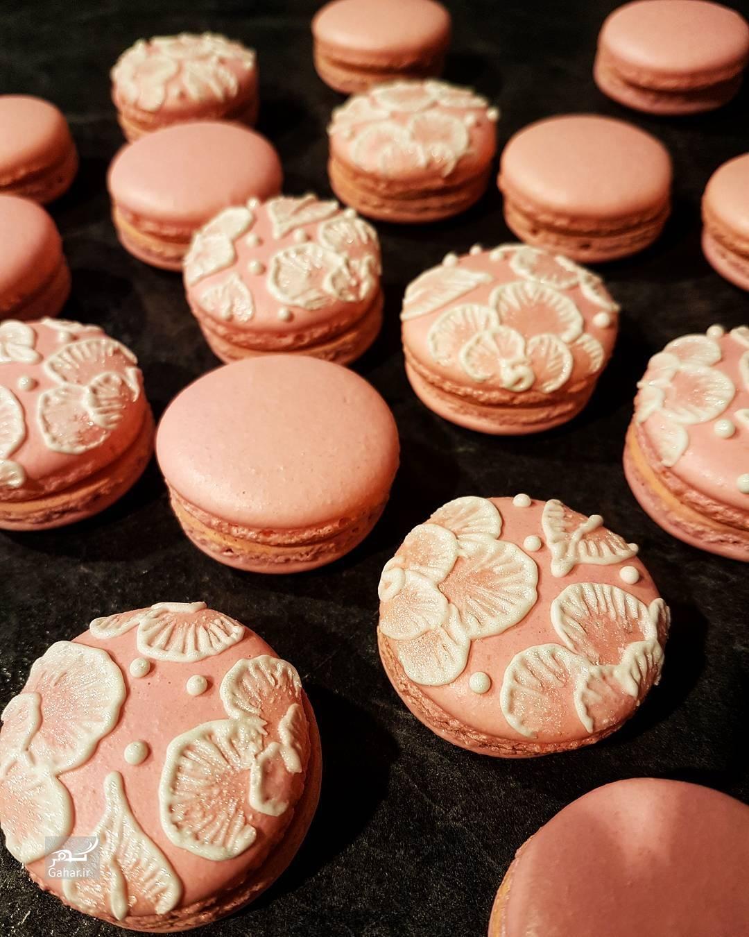 1486802737 تزئین شیرینی ماکارون به شکل های جالب ؛ عکس