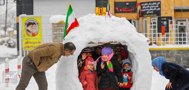 1486824299 برف بازی مردم همدان در زمستان زیبا ؛ تصاویر
