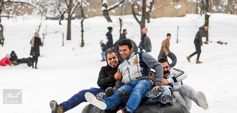 1486882167 برف بازی مردم همدان در زمستان زیبا ؛ تصاویر