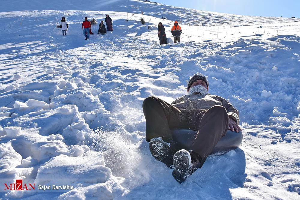 1487363016 عکس های دیدنی مردم در برف زمستانی لرستان