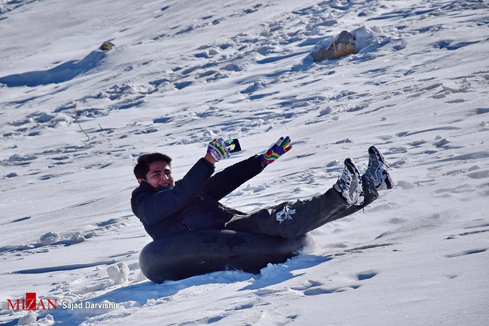 1487363861 عکس های دیدنی مردم در برف زمستانی لرستان
