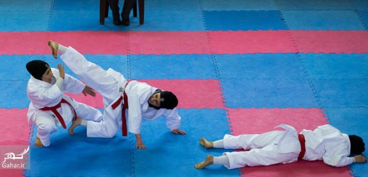 1487947154 عکس های مسابقات انتخابی تیم ملی کاراته بانوان