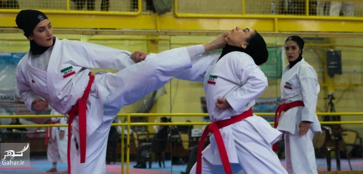 1487948176 عکس های مسابقات انتخابی تیم ملی کاراته بانوان