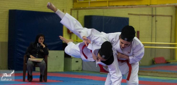 1487949187 عکس های مسابقات انتخابی تیم ملی کاراته بانوان