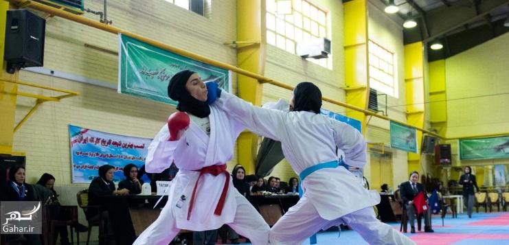 1487970807 عکس های مسابقات انتخابی تیم ملی کاراته بانوان