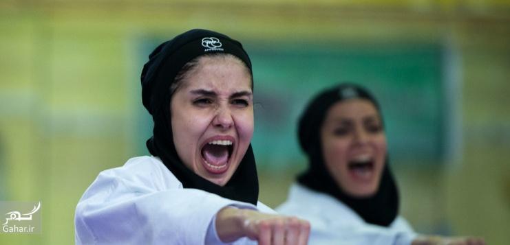 1487977461 عکس های مسابقات انتخابی تیم ملی کاراته بانوان